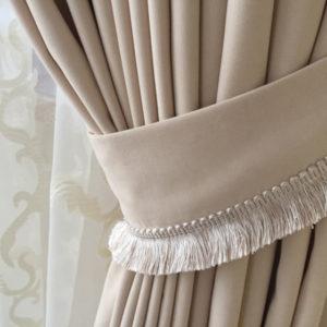 подхваты для штор из ткани