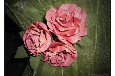 Подхват из роз.