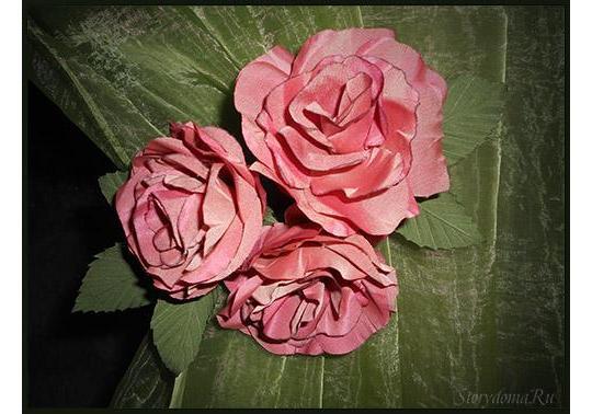 подхват из роз