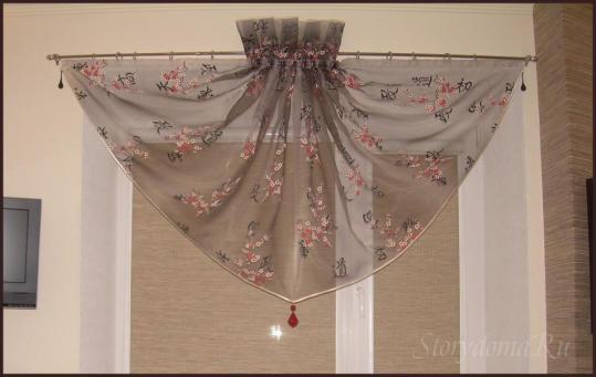 фото шторы в китайском стиле