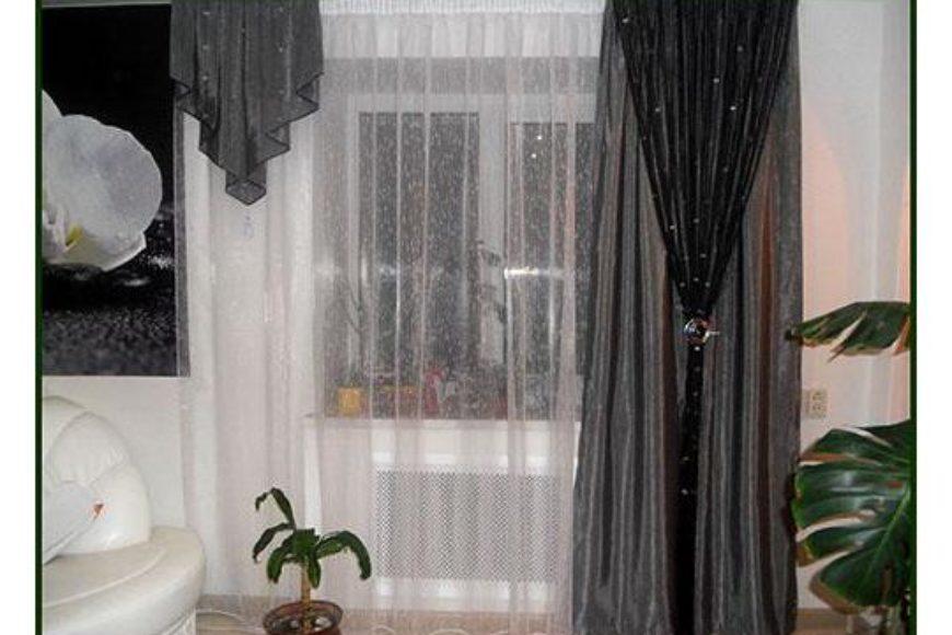 Как я использовала шторы нити в дизайне.