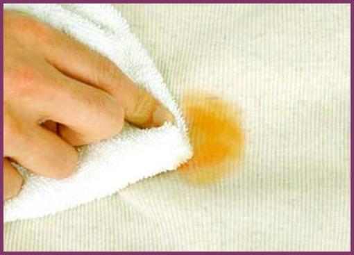 Как вывести жирное пятно на шерстяном платье фото