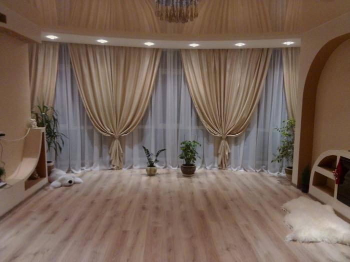 Как выбрать потолочный карниз для штор.