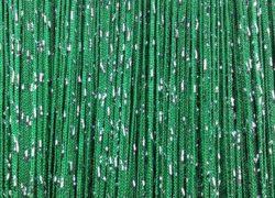 кисея дождь однотонная темно-зеленый
