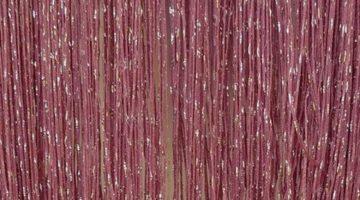 кисея дождь однотонная сиреневый