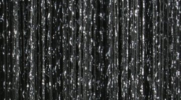 кисея дождь однотонная черный