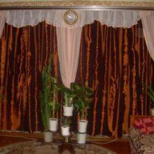 Шторы для гостиной два окна