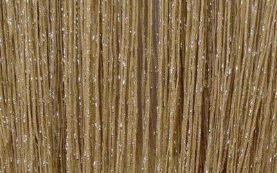 кисея дождь однотонная коричневый