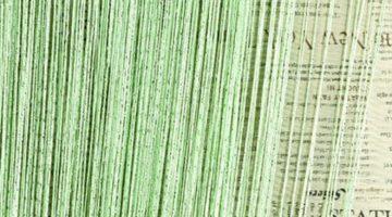 кисея дождь однотонная светло-зеленый