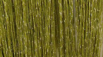 кисея дождь однотонная зеленый