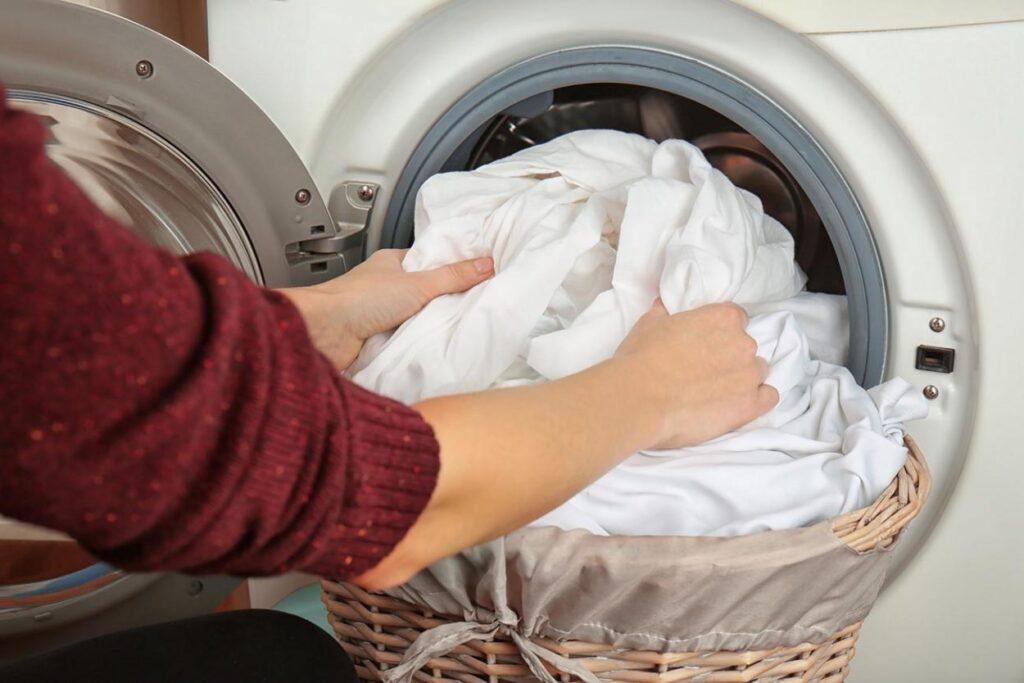 Как отбелить постельное белье в стиральной машине