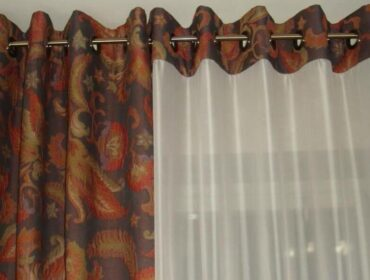 Карнизы для штор с люверсами