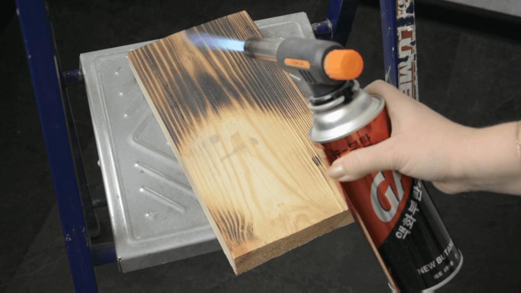 Обжиг древесины декупаж ключницы