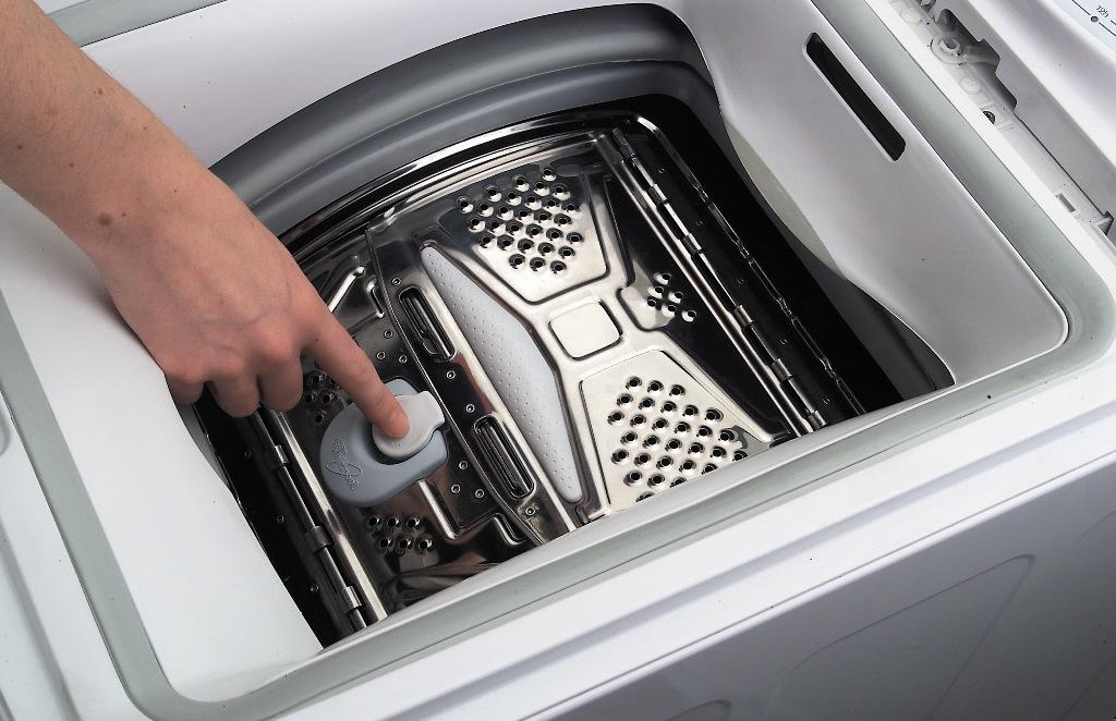 чистка стиральной машины с вертикальной загрузкой